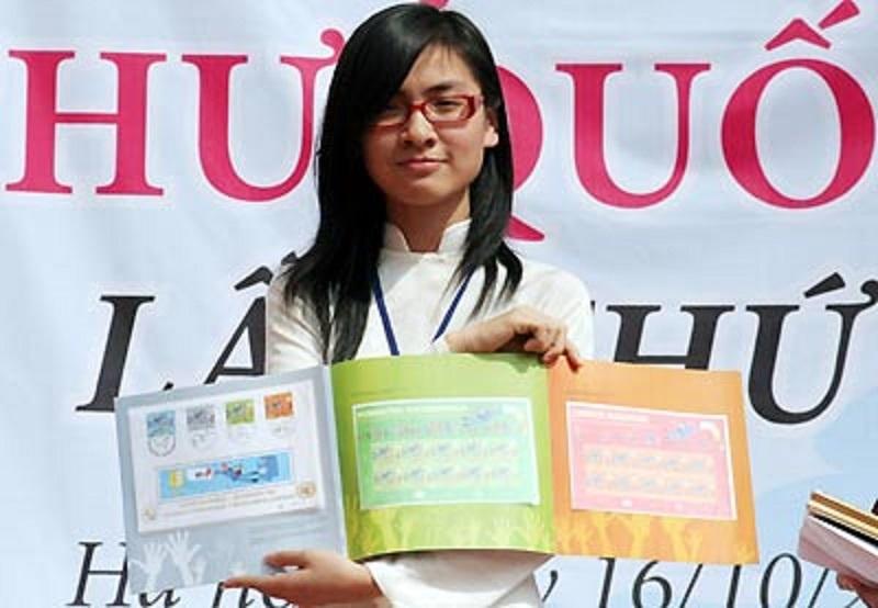 Chân dung tác giả đạt giải Nhất cuộc thi Viết thư quốc tế UPU lần thứ 37