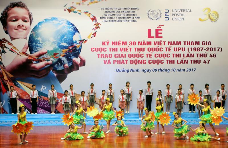 Giải Nhất cuộc thi Viết thư quốc tế UPU lần thứ 47