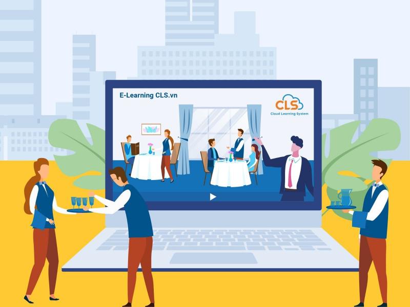 Giải pháp đào tạo trực tuyến cho ngành F&B (Ảnh minh họa)