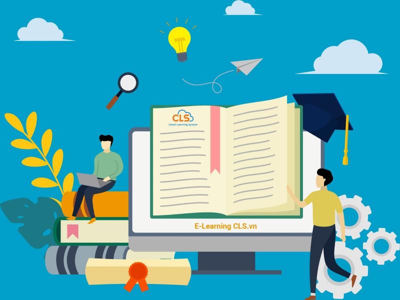 Giải pháp E-Learning cho ngành giáo dục (Ảnh minh họa)