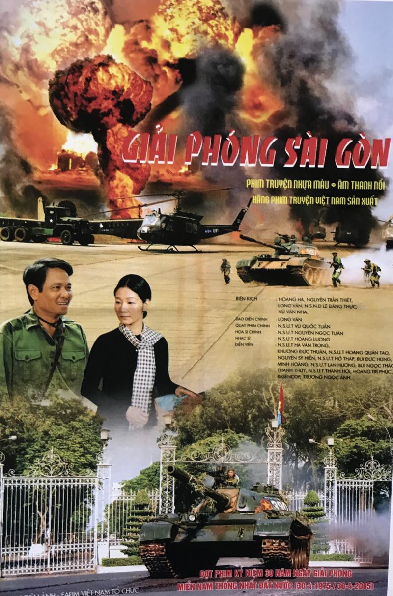 Áp phích phim Giải phóng Sài Gòn