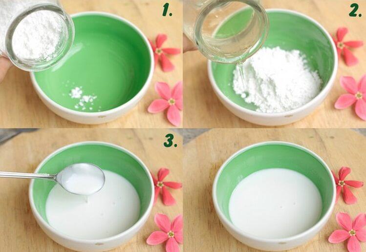Giấm táo và bột gạo cũng là một liều thuốc hiệu quả giúp bạn loại bỏ được vùng nách tối màu