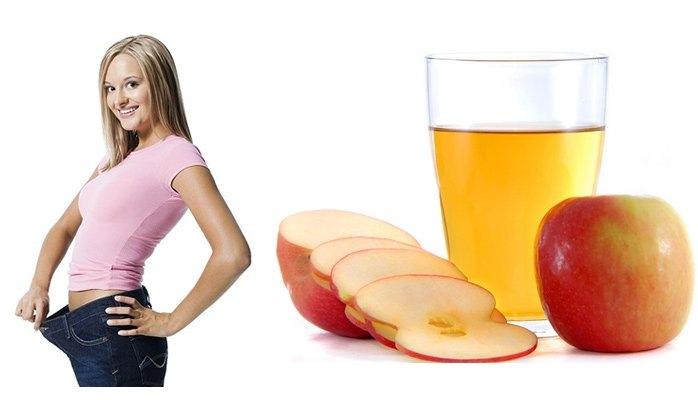 Giấm táo giúp giảm cân nhanh chóng