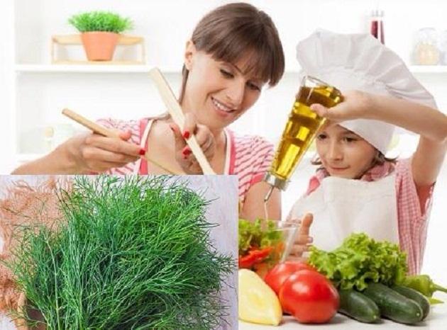 Tinh dầu Eugenol trong lá rau thì là có tác dụng làm giảm lượng đường trong máu