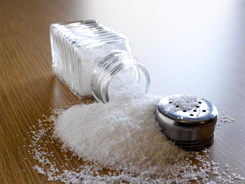 Giảm lượng muối trong bữa ăn