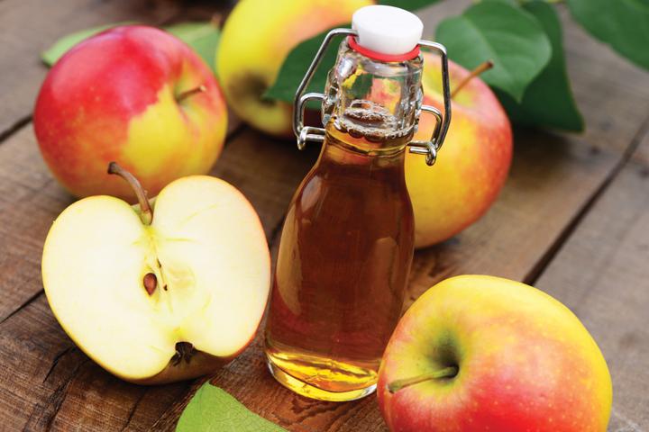 Giấm táo có tác dụng trị nhờn da rất hiệu quả