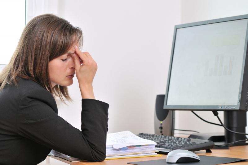 Sử dụng máy tính sẽ làm giảm thị lực của mắt