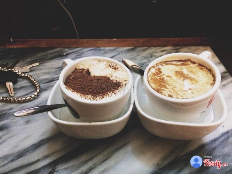 Cacao và cafe trứng truyền thống