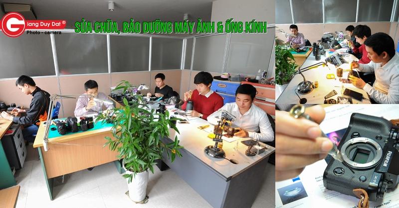 Khá nhiều khách hàng lựa chọn Giang Duy Đạt là nơi để bảo dưỡng, sửa chữa máy ảnh.