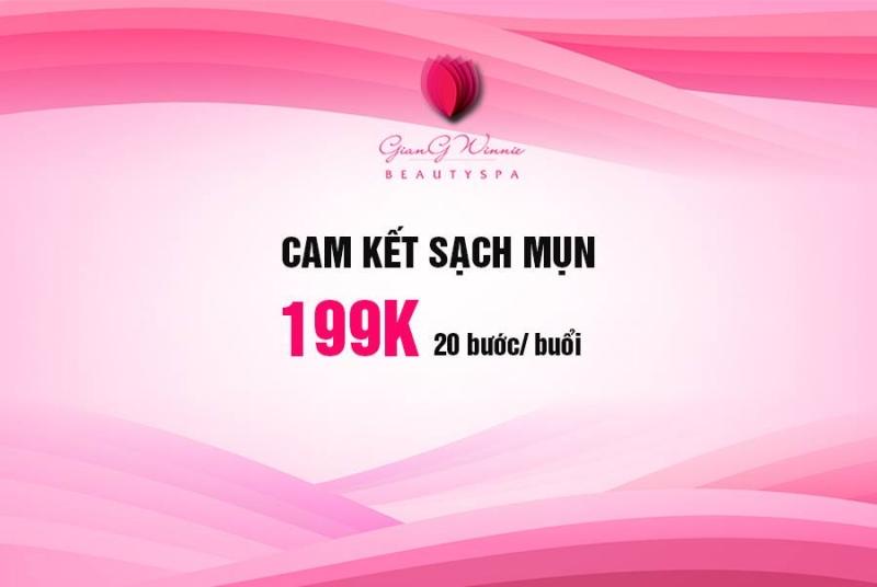 Cam kết của Giang Winnie Beauty & Spa