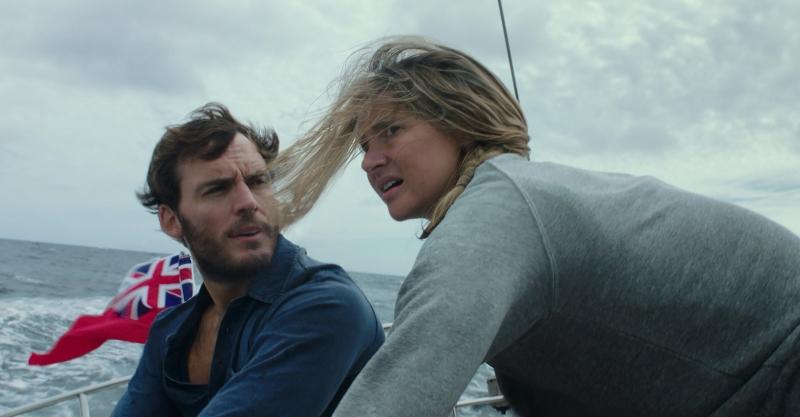 Hai diễn viên chính trong Adrift