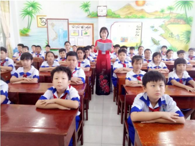 Năm 2021, ngành Giáo Dục Tiểu Học của Đại học Tiền Giang có 60 chỉ tiêu với điểm xét trúng tuyển đợt 1 là 15.95 điểm
