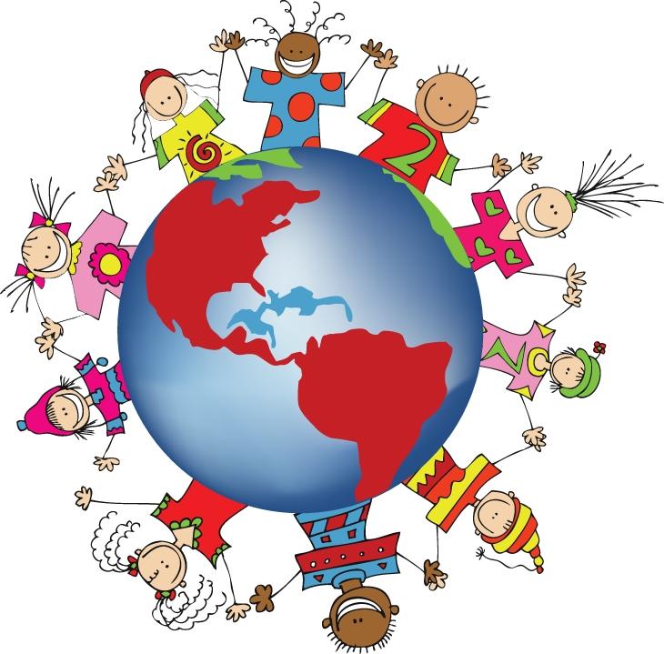 Giao lưu giữa nhiều nền văn hóa giúp các em hiểu thêm về thế giới