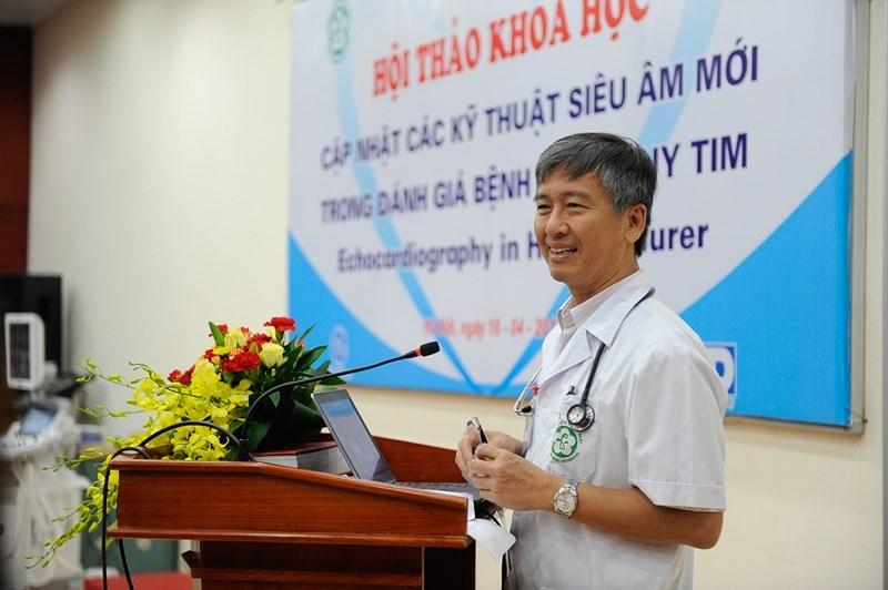 Giáo sư Đỗ Doãn Lợi có nhiều thành tựu khoa học về chuyên ngành tim mạch.