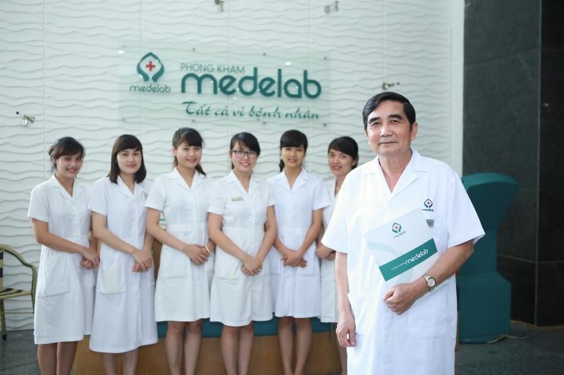 Phòng khám Đa khoa Medelab nơi bác sĩ làm việc