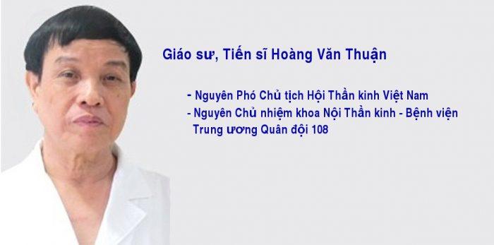Giáo sư, Tiến sĩ Hoàng Văn Thuận
