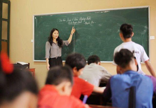 Giáo viên nên bình tĩnh, không bộc lộ sự giận dữ, lo lắng