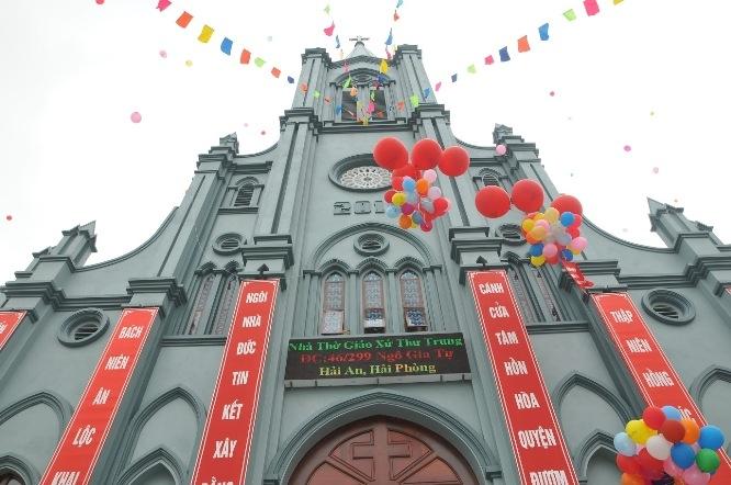 Giáo xứ Thư Trung