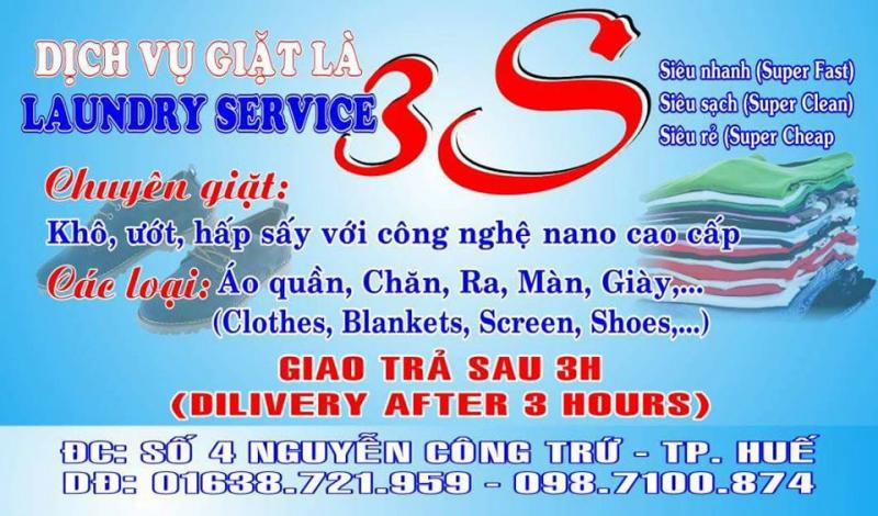Giặt là 3S tại Huế