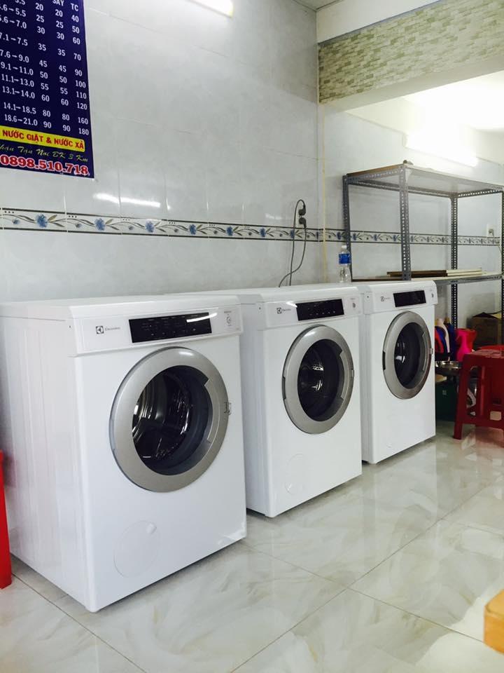 Dịch vụ giặt sấy tự động Mr.Clean