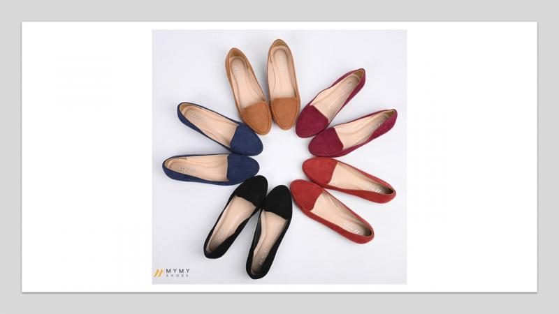 Giày bêt đủ chất liệu nhưng chủ yếu làm bằng da bò mềm, mịn, co dãn tốt đi nhiều giờ cũng không bị đau chân