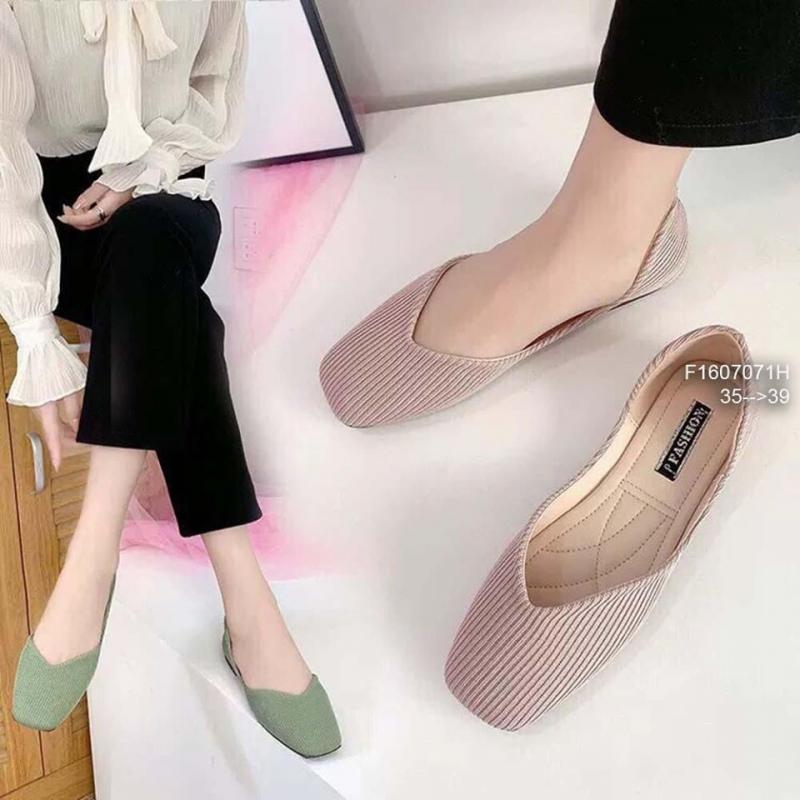 Giày búp bê mũi vuông