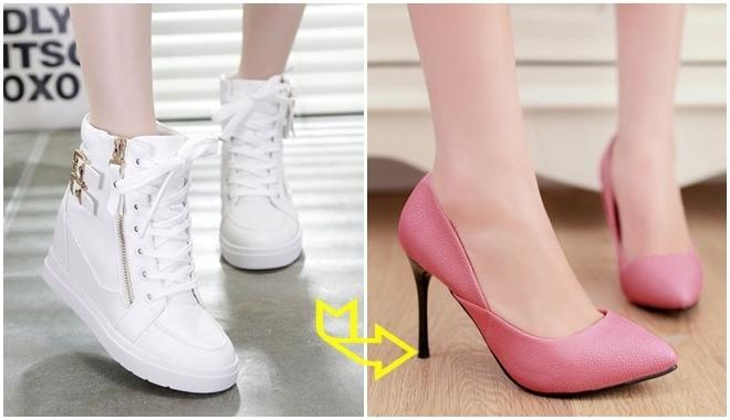 Giày cao gót cổ điển