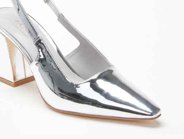 Giày cao gót Pazzion 774-6 - SILVER