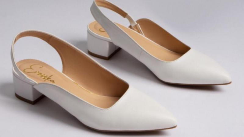 Giày cao gót quai vắt sau gót