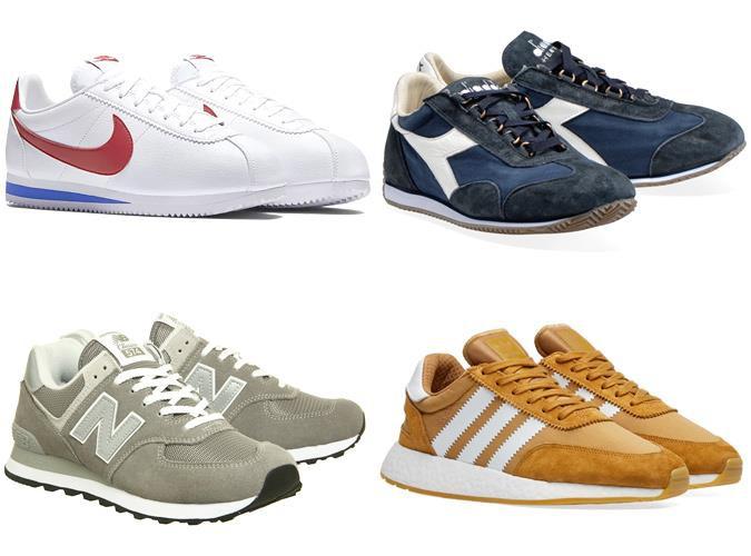 Giày chạy bộ retro (retro runner)