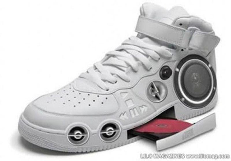 Giày có ổ đĩa