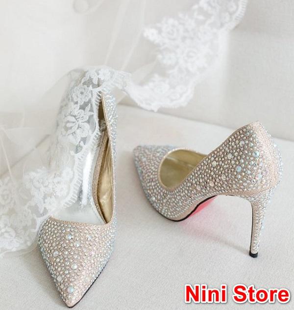 Giày cưới đẹp cho cô dâu tại Nini Store