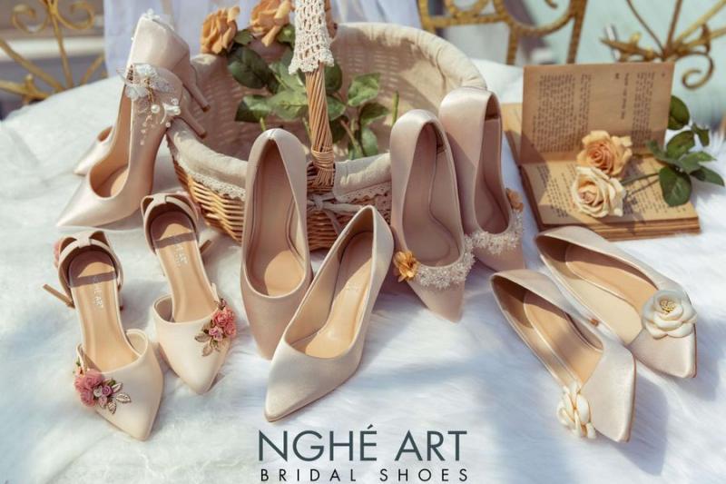 Giày Cưới - Nghé Art Bridal Shoes