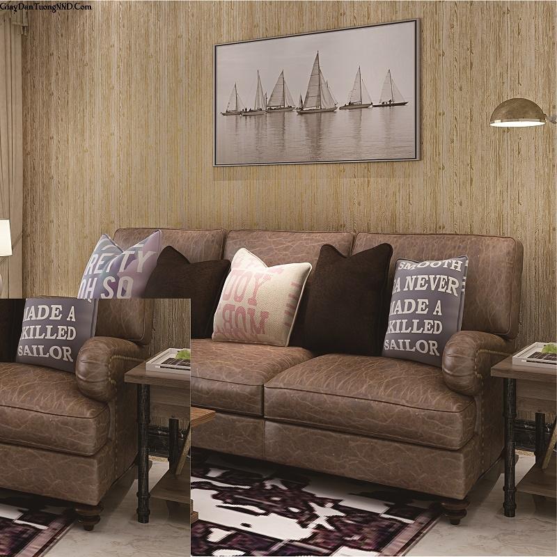 Mẫu giấy dán tường vân gỗ đẹp