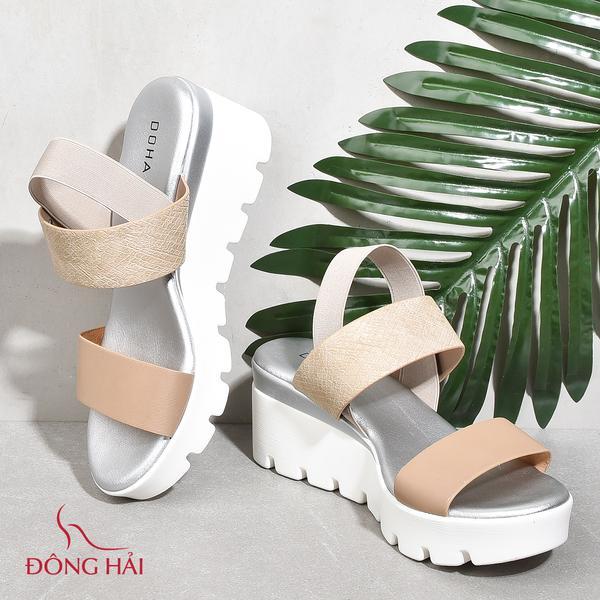 Giày đế bằng platform