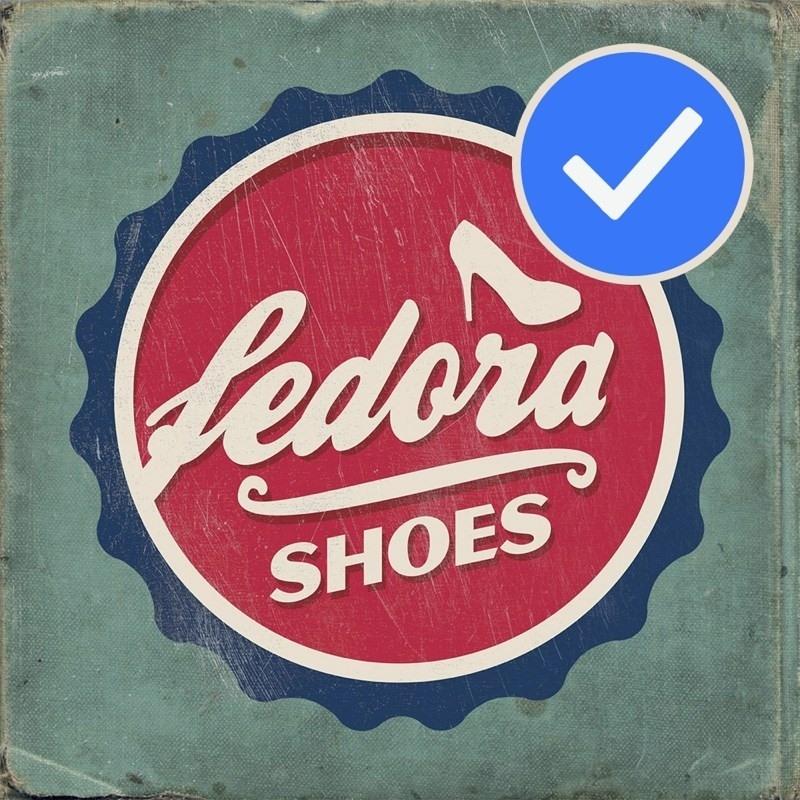 Logo của Fedora.