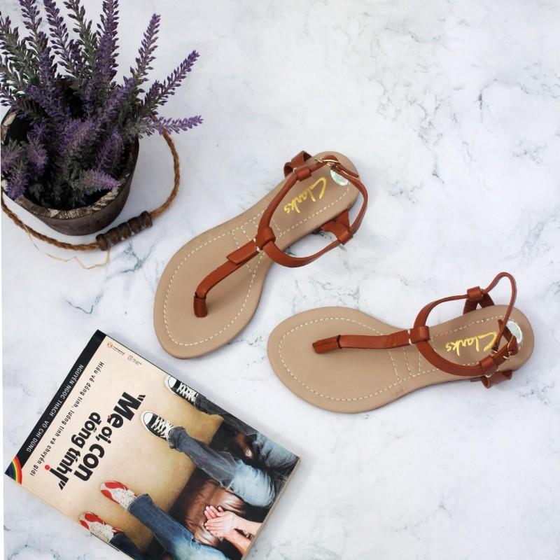 Sandal Xỏ Ngón đế bệt trendy nhất mùa hè