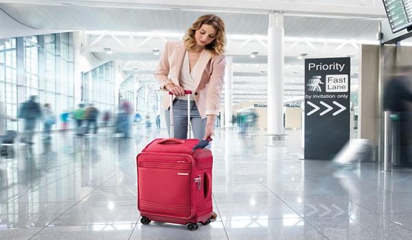 Lưu ý số cân nặng và kích thước của vali