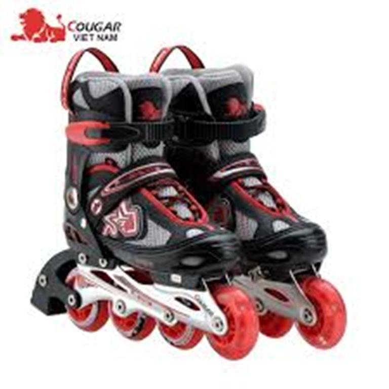 Giầy trượt patin Cougar MZS-835LE có nấc điều chỉnh size chân nhanh chóng nên phù hợp với nhiều lứa tuổi khác nhau.