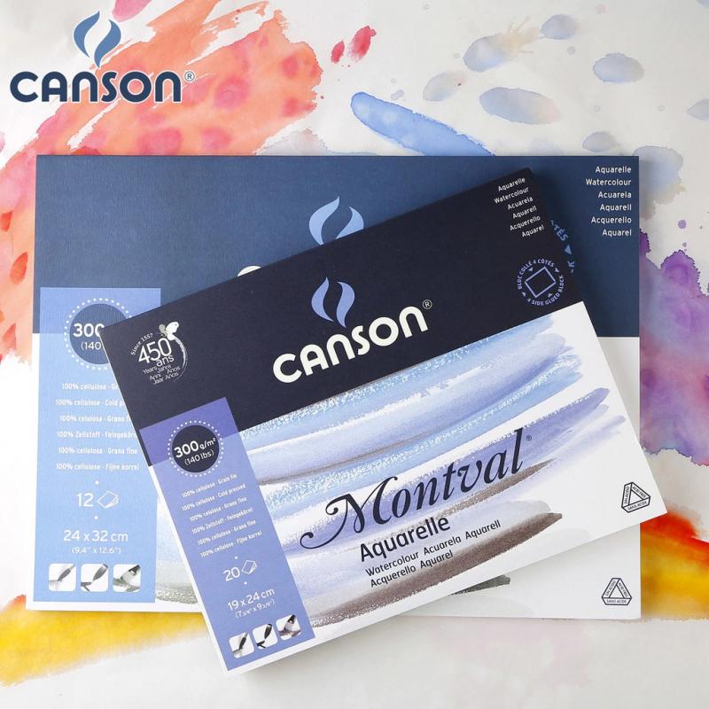 Giấy vẽ màu nước Canson Montval
