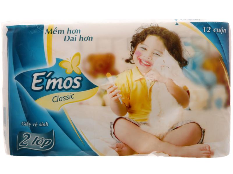Giấy vệ sinh E'mos