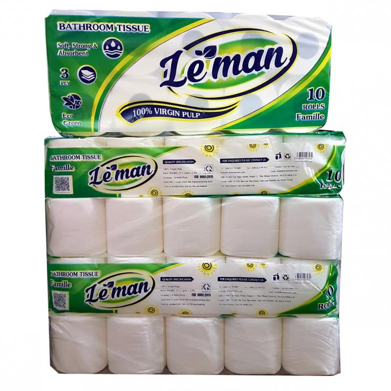 Giấy vệ sinh Leman