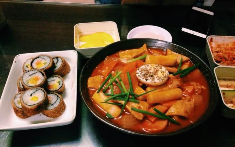 Món ăn Hàn Quốc thơm ngon hấp dẫn