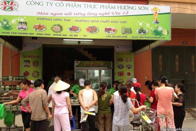 Giò chả Hương Sơn
