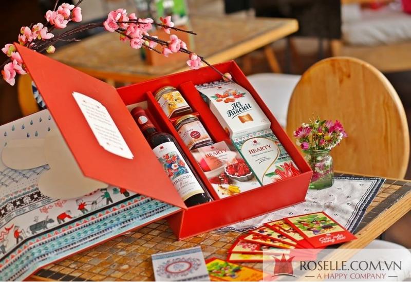 Giỏ quà tết Roselle Việt Nam
