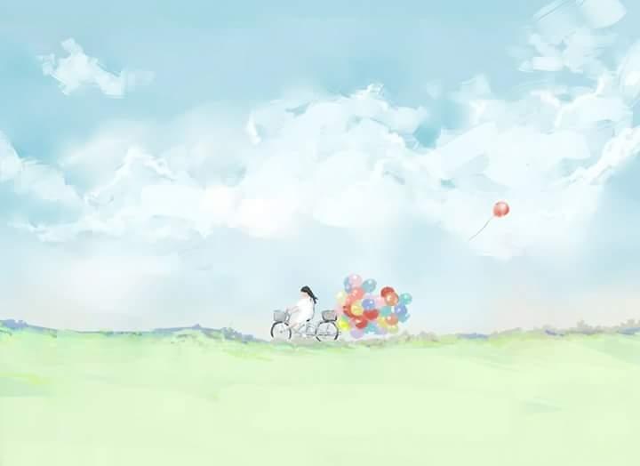 Gió thổi kí ức thành những cánh hoa