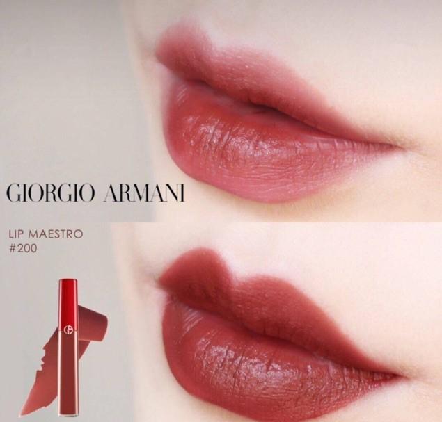 Giorgio Armani Lip Maestro Liquid Lipstick - 200 Terra