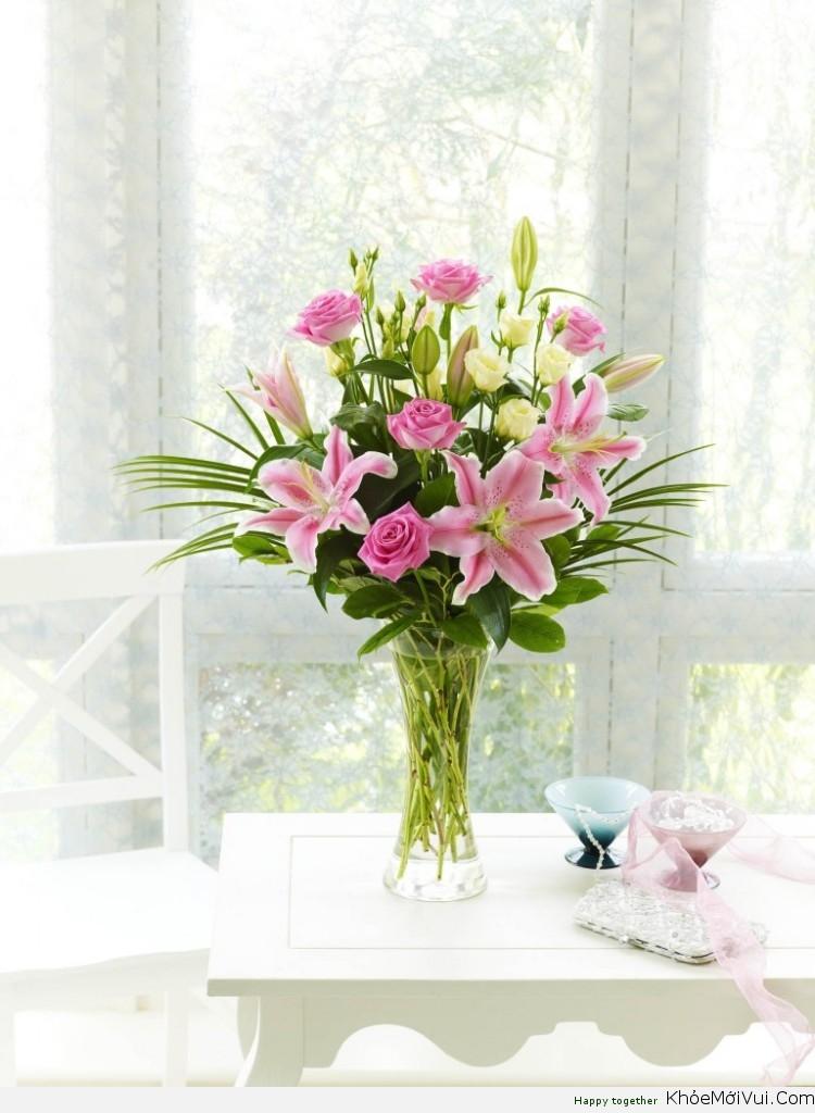 Giữ hoa tươi lâu hơn