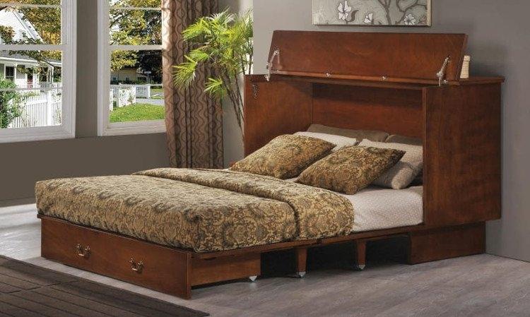 Giường bàn gấp giúp bạn tiết kiệm được không gian