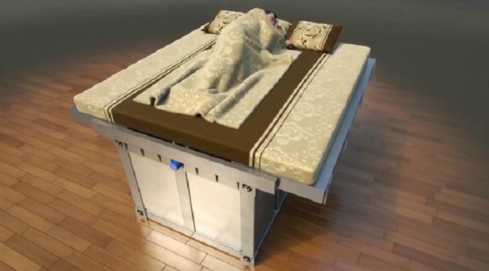 Mô hình giường chống động đất